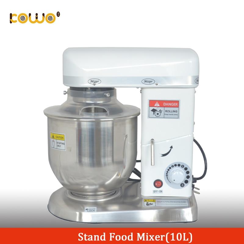 Commerciale 10 litro elettrico da cucina cibo mixer stand macchina per impastare pasta di pane