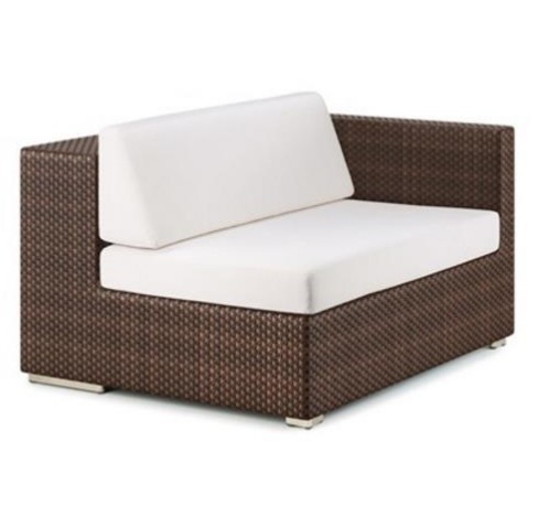New Arrival Comfortable Patio Furniture Small Sectional Couches Rattan Seating Sets
