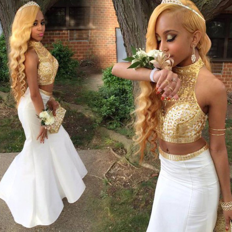 Buy 2 piece off the shoulder mermaid prom dress and get free shipping on  AliExpress.com aaeeb2be8db2