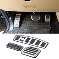 Stainless Steel Auto Cat Foot Pedal ,Footplate For Land Rover RRS LR3 LR4 2011-2013