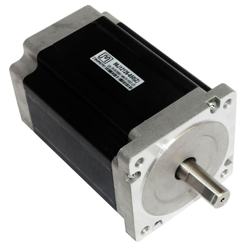 цена на Nema 34 3phase 6.5N.m 920ozf.in stepper Motor 86mm frame 14mm shaft 86J12126-650 JMC
