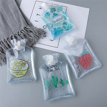 Portable Winter Hand Warm Water Bottle Transparent Cute Mini Hot Bottles Min Injection Storage Bag Christmas Gifts