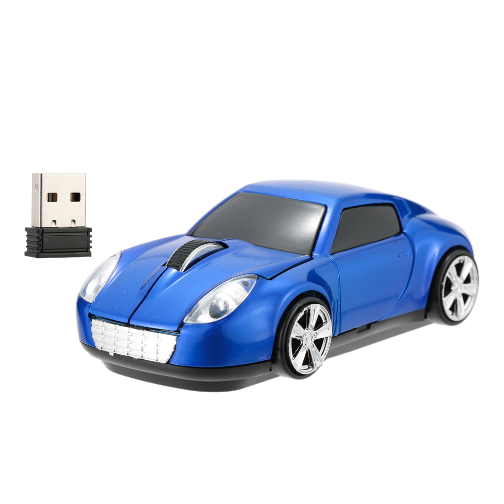 2016 Newest Sports Car Shaped 2.4GHz Wireless Mouse