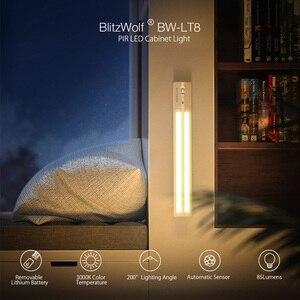 Image 2 - Upgrade BlitzWolf Intelligent Smart LED light Motion Sensor LED Cabinet Light Removable Lithium Battery 3000K Color Temperature