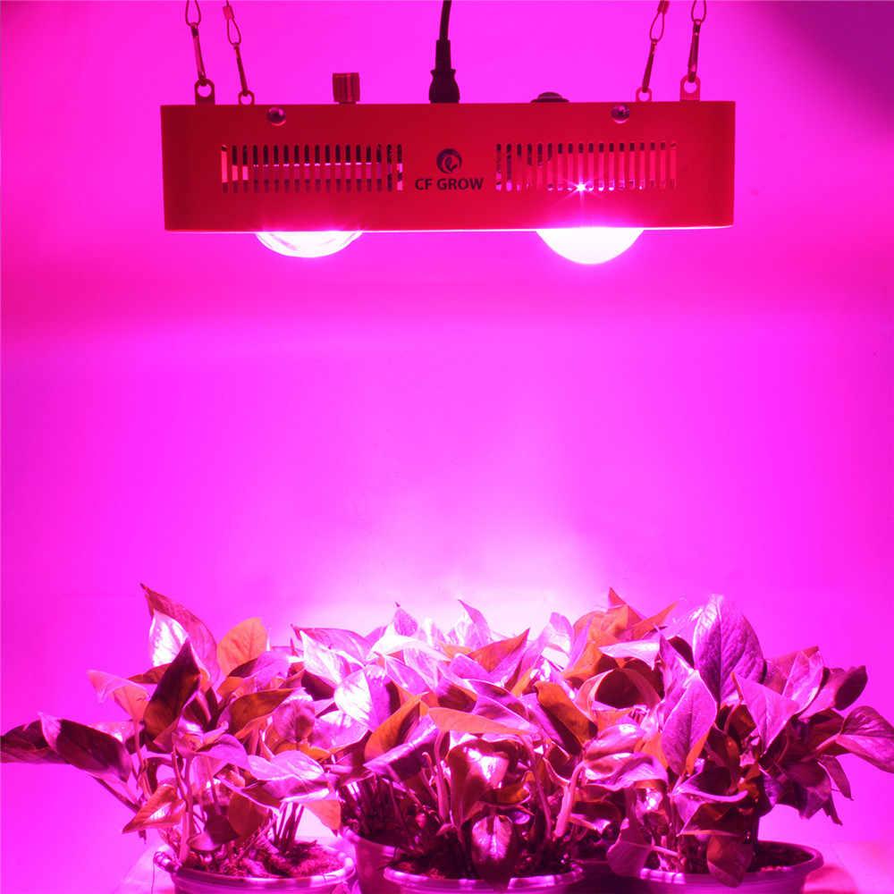 Luz de crecimiento LED de espectro completo regulable 800W Citizen Bridgelux COB planta de invernadero para interiores iluminación de crecimiento de escenario
