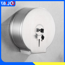 Stainless Steel Toilet Paper Holder Creative Waterproof Hand Paper Towel Dispenser Wall Mounted Bathroom Tissue Roll Paper Box stainless steel paper holder towel dispenser bathroom toilet tissue holder wall mounted single roll paper holders