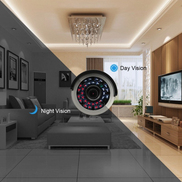 Techage HD H.265 4.0MP POE Security Camera CCTV System 8CH NVR, 8pcs 2592*1520 IP Camera Outdoor Day/Night View Surveillance Kit