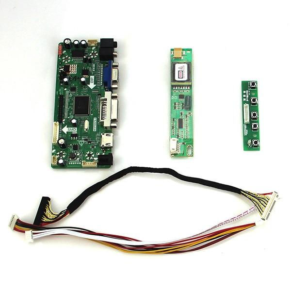 M.NT68676 LCD/LED Controller Driver Board For B154EW02 CLAA154WA05 (HDMI+VGA+DVI+Audio)