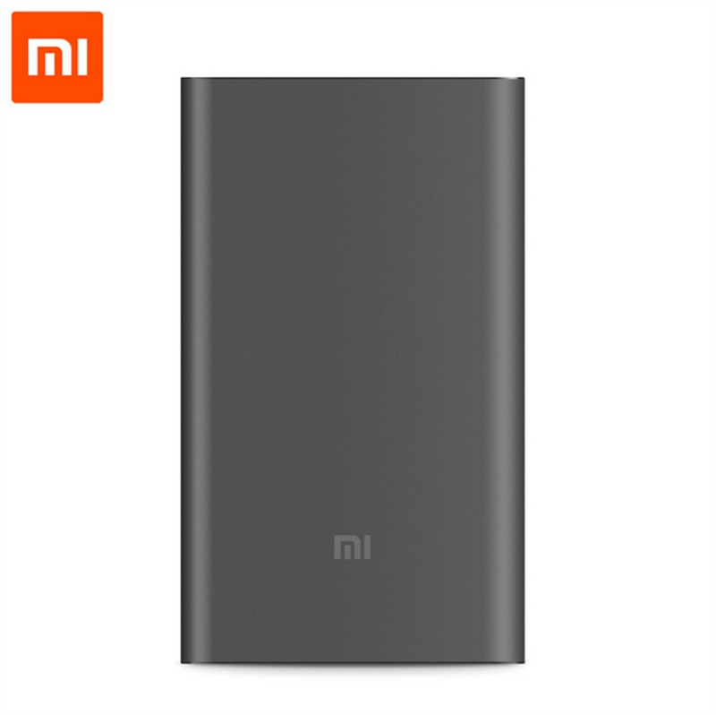 Original Xiaomi Mi 10000mAh Power Bank Pro 10000 mAh Powerbank Quick Charger QC 2.0 Type-C External Battery Pack for Smartphone original xiaomi zmi 10000 mah power bank 10000mah powerbank two way quick charge 2 0 with type c charger for iphone ipad samsung