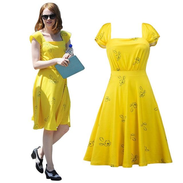 c6c5ed3241 2017 Women LaLaLand Mia Classic Elegant Vintage dress 1950s cute party dress  with Short Sleeve Sexy summer dress vestidos