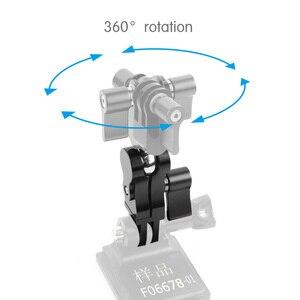 BGNing, вращение на 360 градусов, Металлические адаптеры, адаптеры для шлема, крепления для Gopro для DJI Osmo Action для XIAOYI EKEN Action Camera