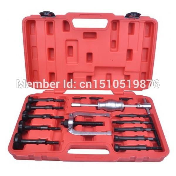 16PCS Blind Hole Pilot Internal Slide Hammer Bearing Puller Set AT2030