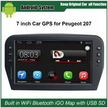 Upgraded Original Car Radio Player Suit to Peugeot 207 Car Video Player Built in WiFi GPS Navigation Bluetooth