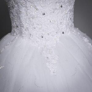 Image 5 - Fansmile 2020 Robe De Mariage Prinzessin Weiß Ballkleid Hochzeit Kleider Vestido De Noiva Plus Größe Custom Hochzeit Kleider FSM 023F