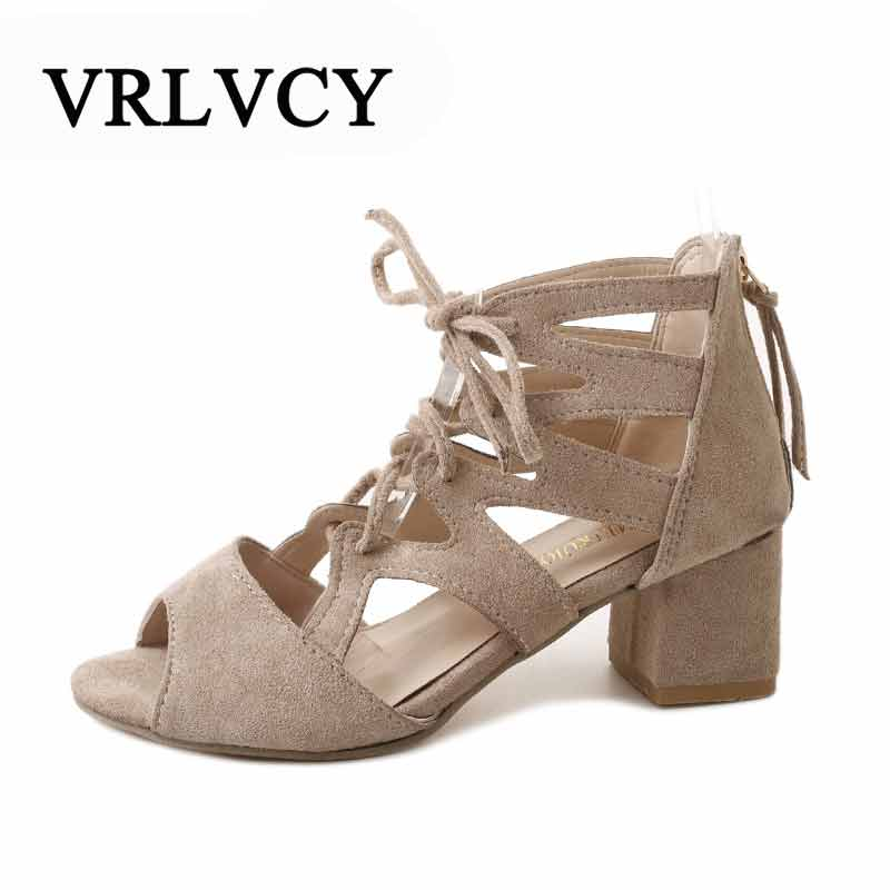 Womens Sandals Summer 2018 Sexy Women Pumps Open Toe Lace Up Heels Sandals Woman Sandals Thick With Women Shoes Women High Heels summer rhinestone thick heels women sandals shoes sexy open toe wedge shoes woman high heels sandals platform