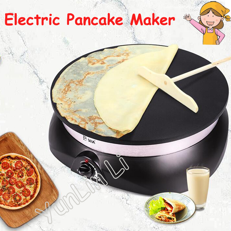 Electric Pancake Maker Electric Crepe Makers Non-stick Coating Baking Machine Household Pancake Machine JB-33a jiqi automatic double heating pancake makers household electric baking pan pancake machine kitchen helper