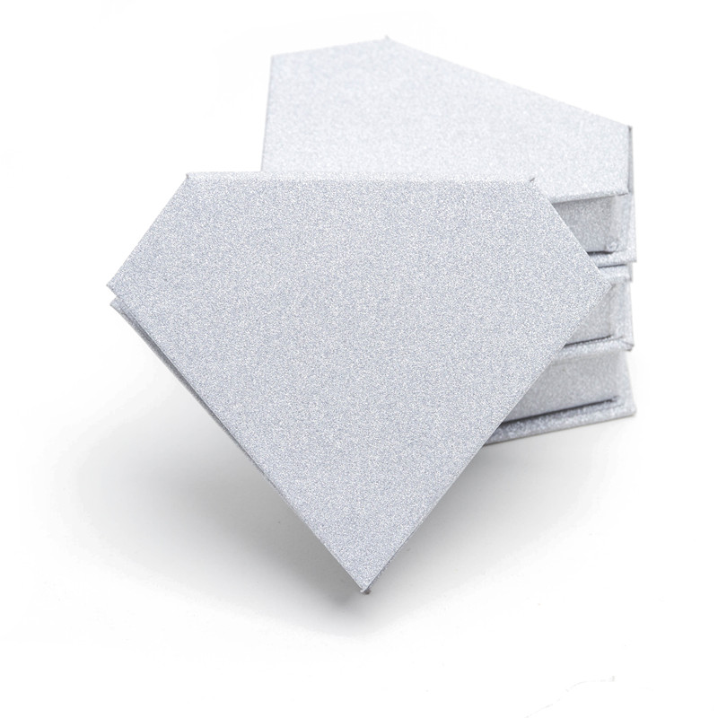 10/pack Wholesale Eyelash Packaging Box Lash Boxes Packaging Custom Logo Faux Mink Lashes Strips Diamond Empty Case Bulk Vendors