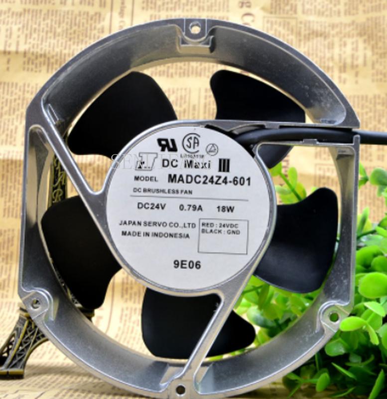 Free Shipping Original MADC24Z4-601 Inverter Fan 24V 0.79A 18W 17cm 17251