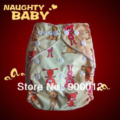 Free Shipping New Printed Colors Baby Nappies Baby Kids Reusable Covers WIth PUL Cloth Diapers 50