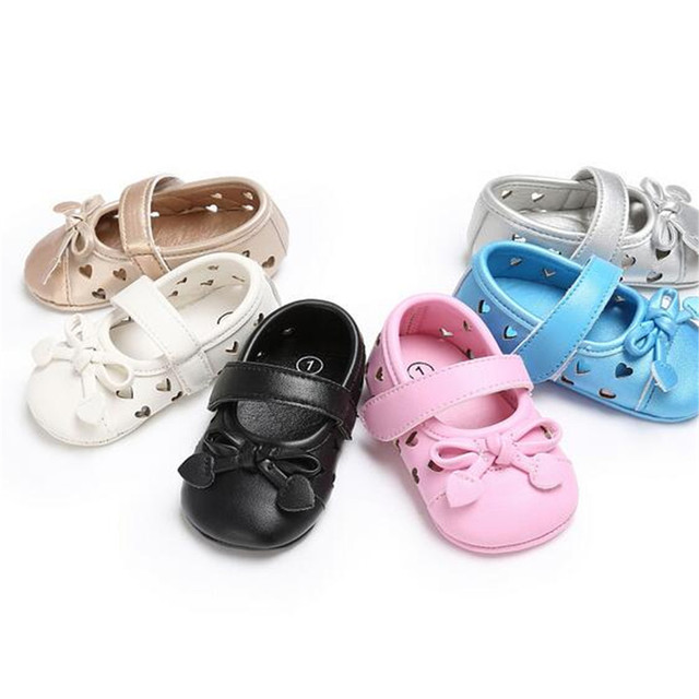 Mode Hohl Infant Mädchen Mary Jane Schuhe Weichen Boden Krippe ...