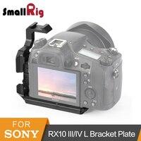 Smallrig rx10 l placa de suporte para sony rx10 iii/iv arca-swiss padrão l placa de montagem de tripé de tiro portátil-2230