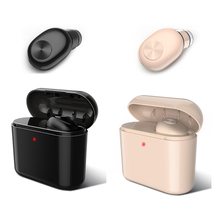 Invisible Wireless Bluetooth Earphone Mini Headset For Phone With 700 MAh Charging Box Portable