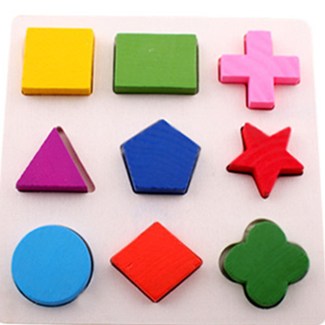 Classic learning Education Montessori Wooden Math Toys Puzzle Toys For Children Educational Equipment Resources Geometry Gifts Other Infant Toys