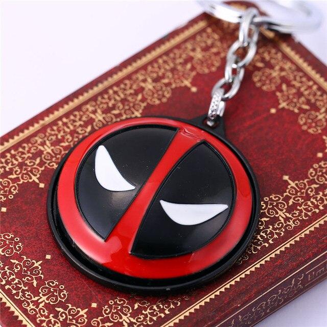 Deadpool Mask keychain Rotatable 4
