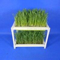 Пластик гидропоники кассеты для рассады сад семена прорастают лоток Поддержка овощная сеялка двухслойные посадки блюд форма для рассады