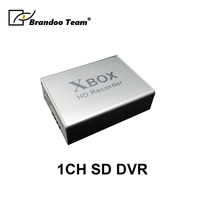 1Ch Mini DVR Support SD Card Real time HD 1 Channel cctv DVR Video Recorder Analog DVR