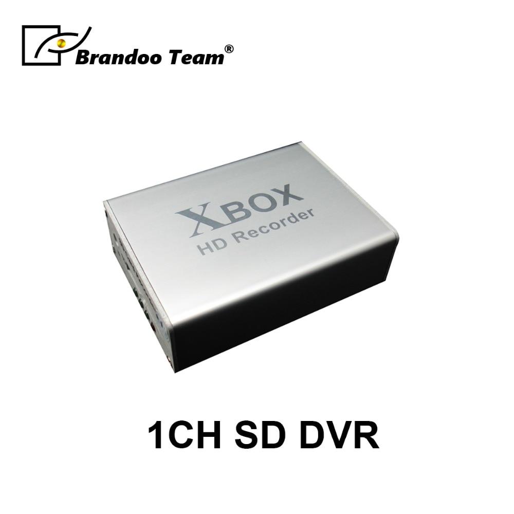 1Ch Mini DVR Support carte SD en temps réel HD 1 canal cctv DVR enregistreur vidéo analogique DVR