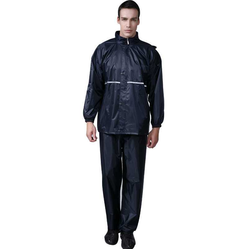 fashion outdoor bicycle raincoat rain pants set-in Raincoats from ...