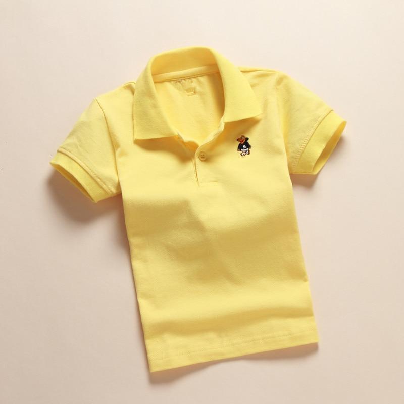 VEITCHE 2017 sommer marke kinder shirts kurzarm drehen unten kragen - Kinderkleidung - Foto 5