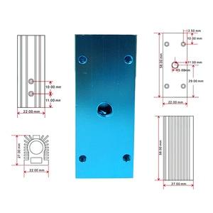 Image 5 - Aluminum Heating Dissipation Sink Holder Cooling CNC For 12mm Laser Module Heatsink