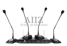 V104 conference microphone wireless goose neck type handheld computer wireless doesthis four capacitor