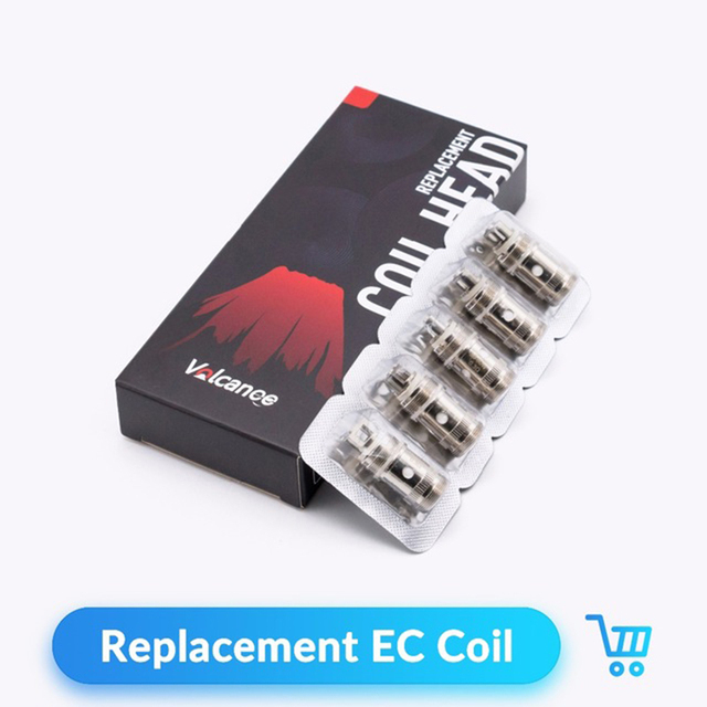 Volcanee 5pcs EC Coil 0.3ohm 0.5ohm Replacement for IJUST 2 Melo3 Mini RTA Atomizer Tank Accessories Vape Core VS ijust mini