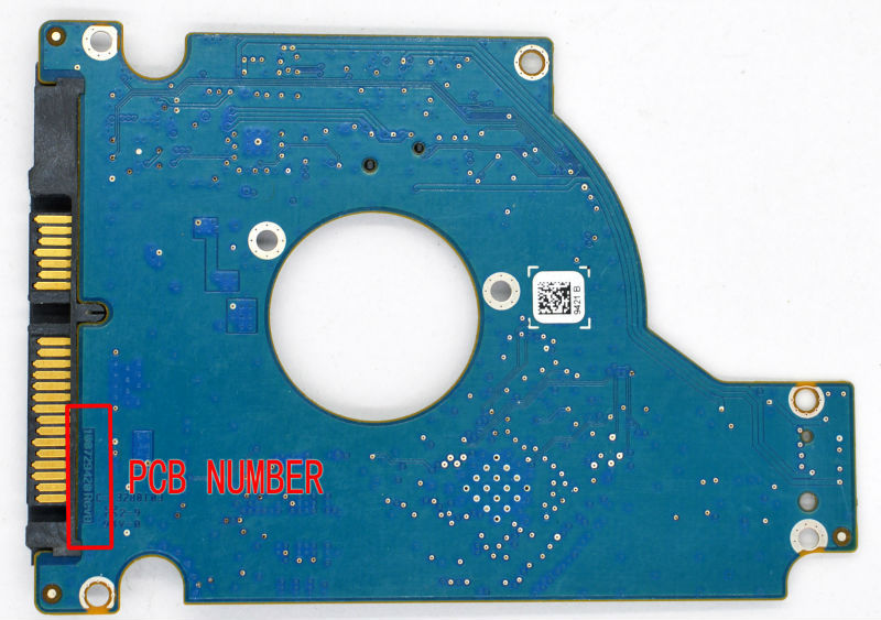 HDD PCB FOR SEAGATE/Logic Board/Board Number: 100729420 REV B