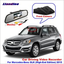 Liandlee Car DVR Front Camera Driving Video Recorder For Mercedes Benz GLK (High-End Edition) 2015 HD AUTO CAM Mirror Monitor liandlee for mercedes benz glk mb x204 2008 2016 car black box wifi dvr dash camera driving video recorder