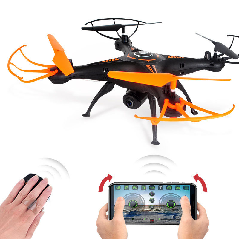 RC Drone Helicopter 2.4G With Headless Mode Hold Constant Altitude Aerial Gesture Control Drones Rc Quadcopter WIFI Real-time