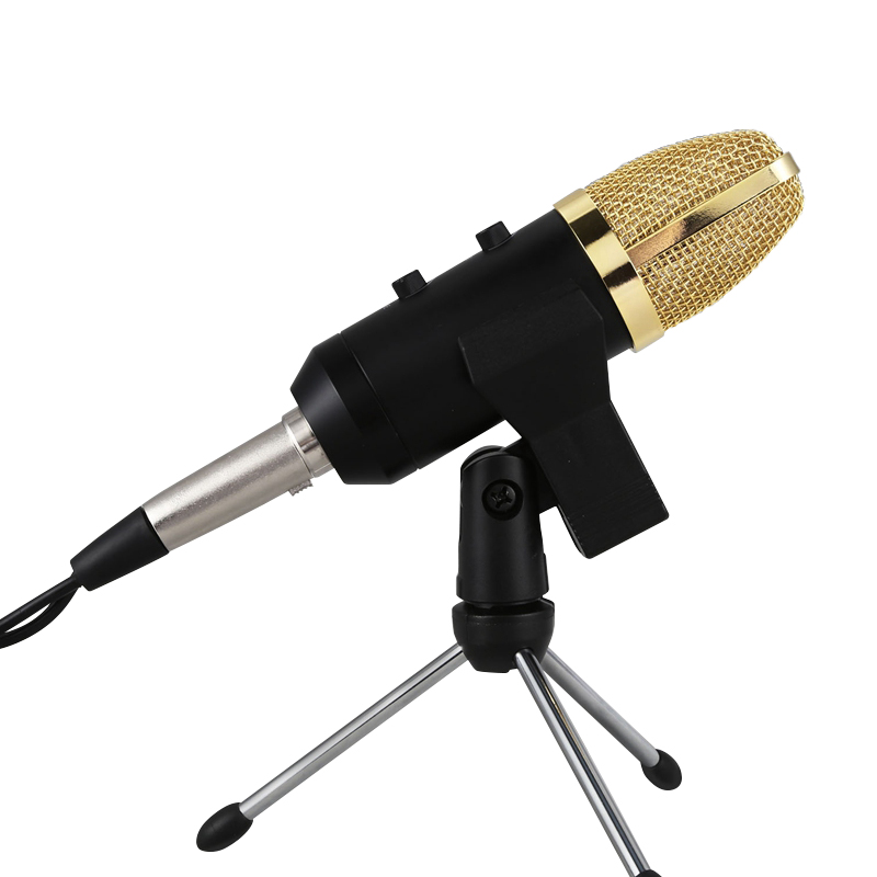 usb microphone for computer karaoke mikrofon condenser sound recording microphone mic with stand. Black Bedroom Furniture Sets. Home Design Ideas