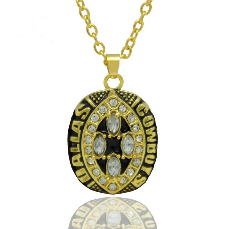 New Arrival Sport Jewelry 1994 Dallas Cowboys Championship Pendants Necklaces, Wedding Necklaces Pendants For Men