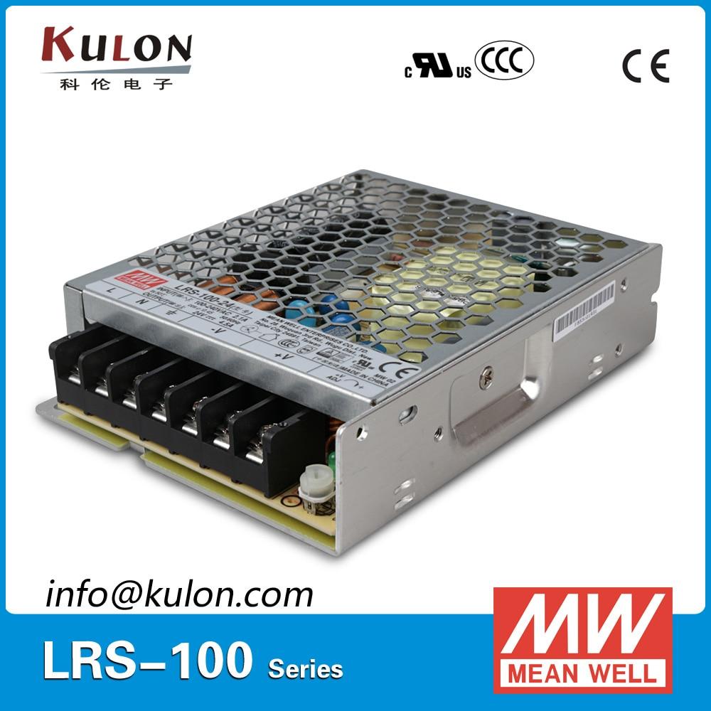все цены на Original MEAN WELL LRS-100-24 Switching Power Supply 100W 24V DC Single Output 100W 4.5A LED Driver онлайн