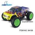 Gasolina rc coche hsp 1/10 nitro 4wd del camino rtr monster truck universal (artículo n ° 94108)-GLO de ARRANQUE INCLUIDO