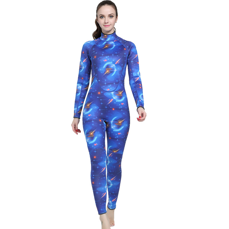 Здесь продается  2018 Wetsuit Women Zipper Swimsuit Full Body Jumpsuits Diving suit Rash Guard Wetsuits for Swimming Surfing Sports Clothing  Спорт и развлечения