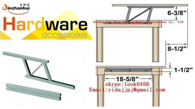 wall cabinet hinge and coffee table mechanism (B05)