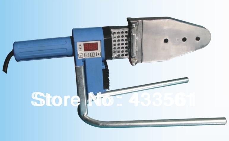 Saldatrice portatile per il trasporto di raccordi per fusione con presa in funzionamento eccellente e conveniente con funzione di visualizzazione digitale automatica