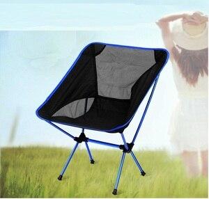 Image 1 - Outdoor Tragbare Camping Picknick Klappstuhl Ultraleicht Strand Stuhl