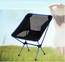 Silla plegable para pícnic, portátil, para exteriores, ultraligera, para playa