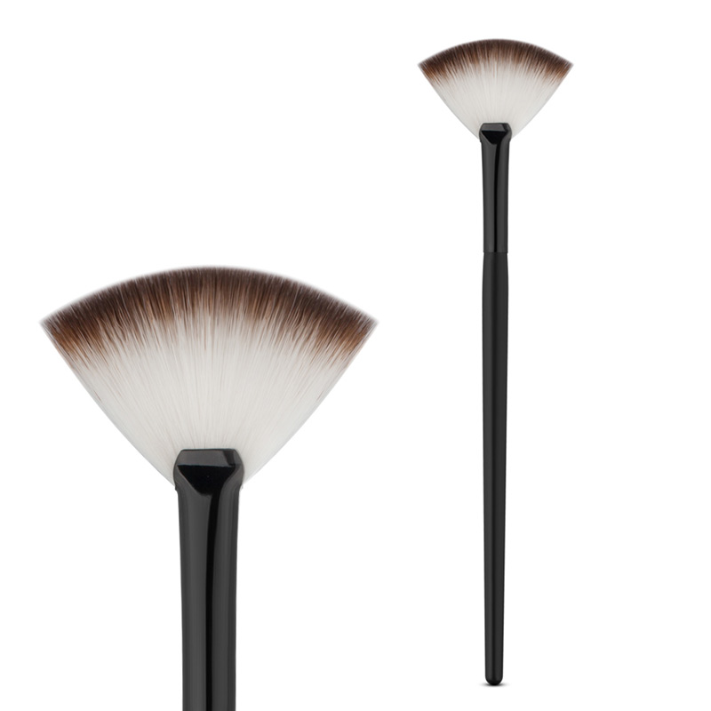Fan Shape Powder Concealer Blending Brush Professional Highlighter Foundation Cosmetic Brush Women Make Up Accessories