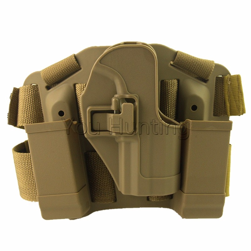 Drop Leg Holster Tactical Thigh Holster System for HK USP Compact CQC Hunting Gun Accessories